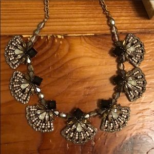 NWOT Anthropologie art deco style necklace